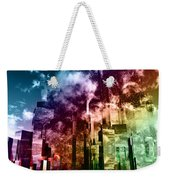 Q-city Three Weekender Tote Bag