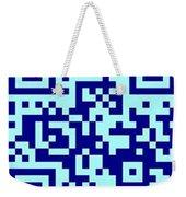 Qr Code Weekender Tote Bag