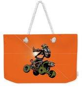 Quad Rider Series Weekender Tote Bag
