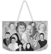 Quade Family Portrait  Weekender Tote Bag
