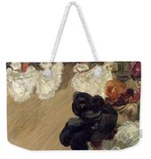 Quadrille At The Bal Tabarin Weekender Tote Bag by Abel-Truchet