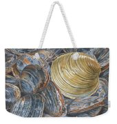 Quahog On Clams Weekender Tote Bag