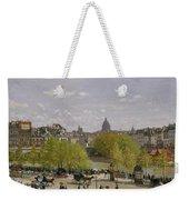 Quai Du Louvre In Paris Weekender Tote Bag