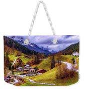 Quaint Bavarian Village Weekender Tote Bag