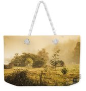 Quaint Countryside Scene Of Glen Huon Weekender Tote Bag