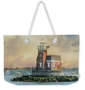 Quaint Stepping Stones Lighthouse Weekender Tote Bag