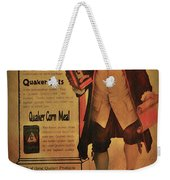 Quaker Quality Weekender Tote Bag by Bill Cannon