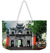Quan Thanh Temple Gate Weekender Tote Bag