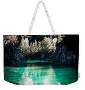 Quarry Waters Weekender Tote Bag