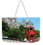 Quebec City 57 Weekender Tote Bag