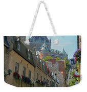Quebec City 62 Weekender Tote Bag