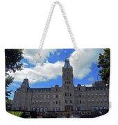 Quebec City 79 Weekender Tote Bag