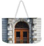Quebec City Doors 1 Weekender Tote Bag