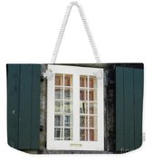 Quebec City Windows 47 Weekender Tote Bag