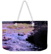 Quebec River Weekender Tote Bag