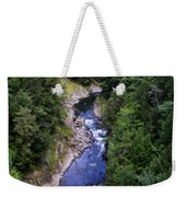 Quechee Gorge In Vermont Weekender Tote Bag
