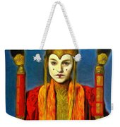 Queen Amidala Senate Costume Weekender Tote Bag