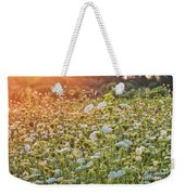 Queen Anne At Sunset Weekender Tote Bag