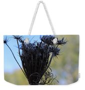 Queen Annes Lace In Autumn Weekender Tote Bag