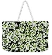 Queen Anne's Lace Patterns Weekender Tote Bag