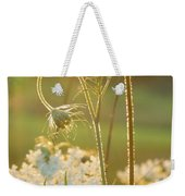 Queen Anne's Lace Sunset Weekender Tote Bag