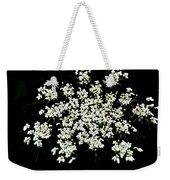 Queen Anne's Lace Wildflower - Daucus Carota Weekender Tote Bag
