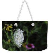Queen Anns Lace Weekender Tote Bag