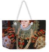 Queen Elizabeth I, C1588 Weekender Tote Bag