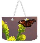 Queen Fritillary Weekender Tote Bag