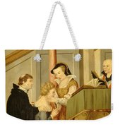 Queen Mary I Curing Subject With Royal Weekender Tote Bag