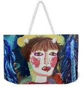Queen Of Hearts Weekender Tote Bag