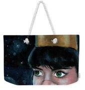 Queen Of Space Weekender Tote Bag