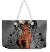 Queen Of Spades Weekender Tote Bag