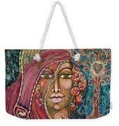 Queen Of The Cosmos Weekender Tote Bag
