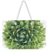 Queen Victoria Agave Succulent Weekender Tote Bag