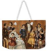 Queen Victoria, Prince Albert Weekender Tote Bag