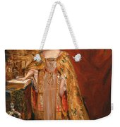 Queen Victoria Taking The Coronation Oath 28 June 1838 Weekender Tote Bag