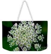 Queens Lace Flower Weekender Tote Bag