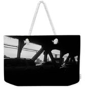 Queens To Manhattan Weekender Tote Bag