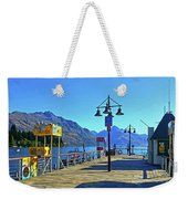 Queenstown's Majestic Mountains Weekender Tote Bag