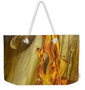 Quenching Fire Weekender Tote Bag
