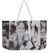 Quentin Tarantino Poster Drawing Weekender Tote Bag