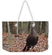 Questioning Wild Turkey Weekender Tote Bag