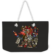 Quetzalcoatl In Human Warrior Form - Codex Borgia Weekender Tote Bag