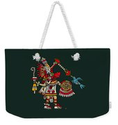 Quetzalcoatl In Human Warrior Form - Codex Magliabechiano Weekender Tote Bag