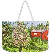 Quick Blossoms, New Grass Weekender Tote Bag
