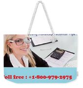 Quickbooks Enterprise Support To Help You Use A Flawless Accounting Program Weekender Tote Bag