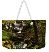 Quiet Autumn Stream Weekender Tote Bag