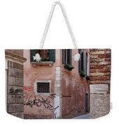 Quiet Corner In Venice Weekender Tote Bag