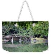 Quiet Day In Tokyo Park Weekender Tote Bag